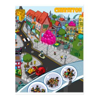 Cartão Postal Cheeseton