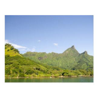 Cartão Postal Chegando pela balsa a Moorea, Polinésia francesa 2