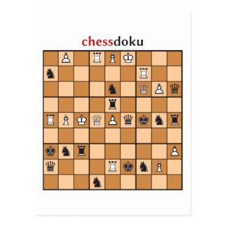 Cartão Postal chessdoku