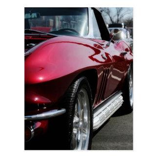 Cartão Postal Chevy 1965 Corveta