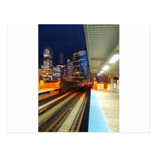 Cartão Postal Chicago e extremidade da escola 235