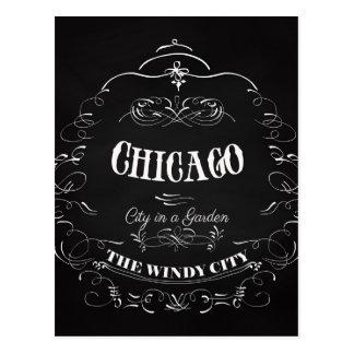 Cartão Postal Chicago Illinois - a cidade do vento