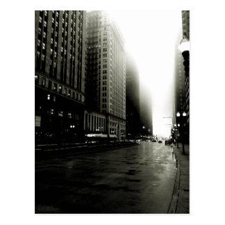 Cartão Postal Chicago noir
