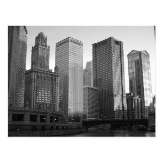 Cartão Postal Chicago River