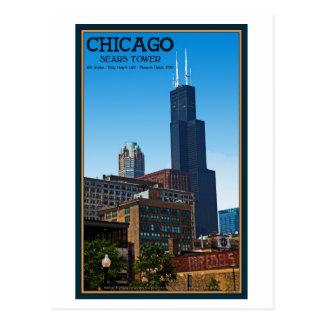 Cartão Postal Chicago - Sears Tower