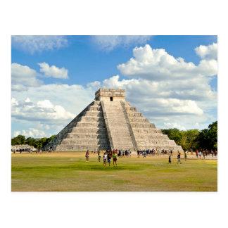 Cartão Postal Chichén Itzá