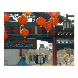 Cartão Postal Chinatown Los Angeles