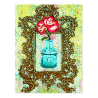 Cartão Postal Chique da estufa do GC |