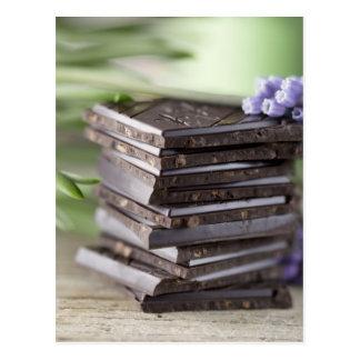 Cartão Postal Chocolate