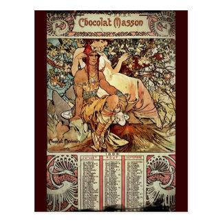 Cartão Postal Chocolate Masson 1897