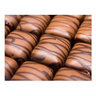 Cartão Postal Chocolates de Stripey