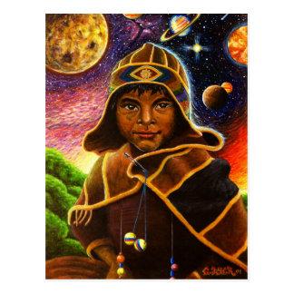 Cartão Postal Cholito Mystico