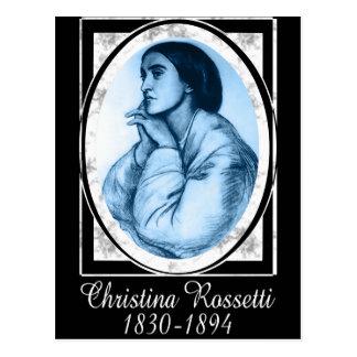 Cartão Postal Christina Rossetti