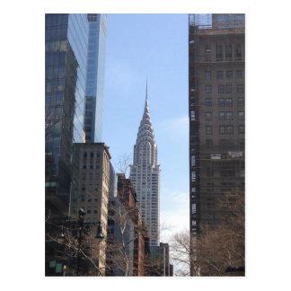 Cartão Postal Chrysler que constrói o Midtown do arranha-céus da