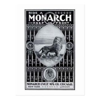 Cartão Postal Ciclo do monarca