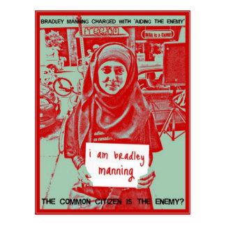 Cartão Postal Cidadãos comuns