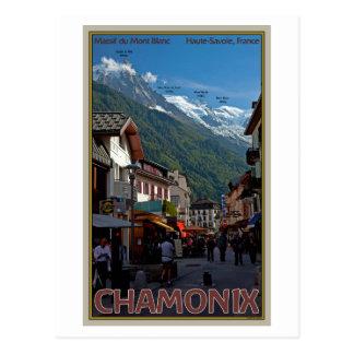 Cartão Postal Cidade de Chamonix