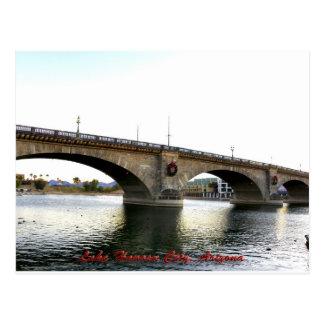 Cartão Postal Cidade de Lake Havasu da ponte de Londres, arizona