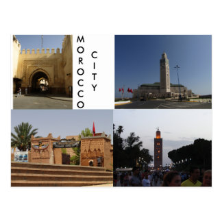 Cartão Postal Cidade de Marrocos