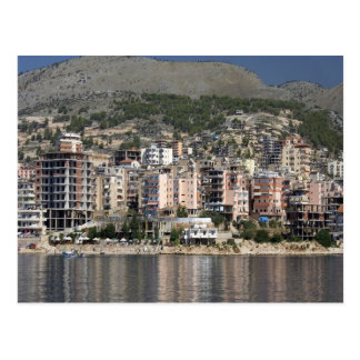 Cartão Postal Cidade de Sarande em Albânia