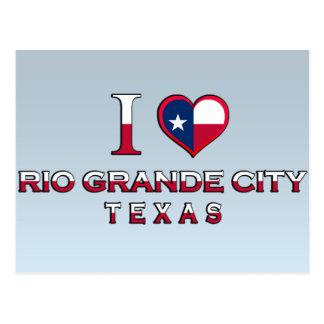 Cartão Postal Cidade do Rio Grande, Texas