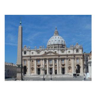 Cartão Postal Cidade do Vaticano da basílica de St Peter