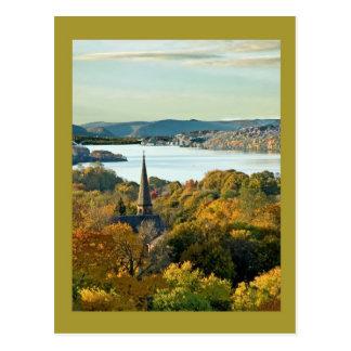 Cartão Postal Cidade no rio