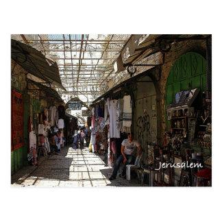 Cartão Postal Cidade velha Jerusalem