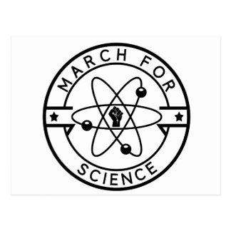 Cartão Postal ciência do march_for