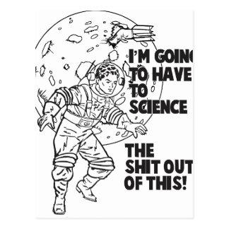 Cartão Postal Ciência isto