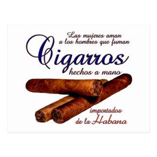 Cartão Postal Cigarros - Cirars