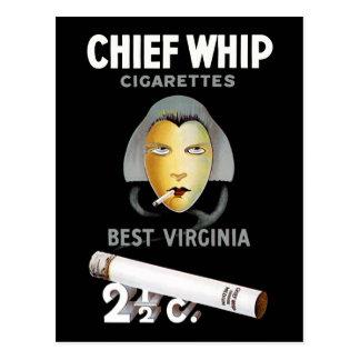 Cartão Postal Cigarros do chicote principal