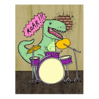 Cartão Postal Cilindros de T Rex