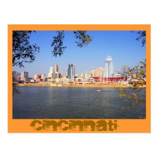 Cartão Postal Cincinnati, Ohio, a cidade da rainha