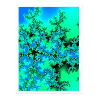 Cartão Postal Cinco-estrela-fractal 2