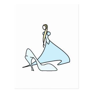 Cartão Postal Cinderella