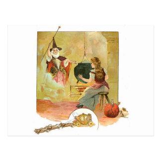 Cartão Postal Cinderella clássica