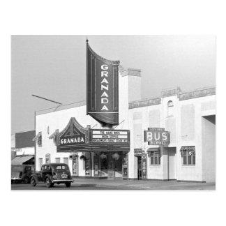 Cartão Postal Cinema de Granada, 1938