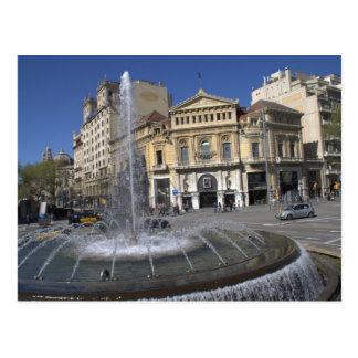 Cartão Postal Cinematografia Comedia, Barcelona
