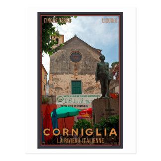 Cartão Postal Cinque Terre - Corniglia