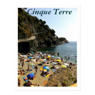 Cartão Postal Cinque Terre, Italia