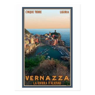 Cartão Postal Cinque Terre - Vernazza