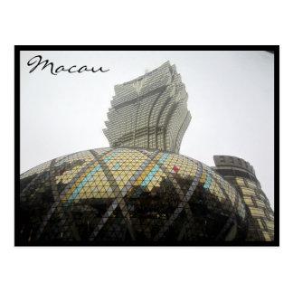 Cartão Postal cinza grande de Lisboa