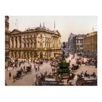 Cartão Postal Circo Londres Inglaterra de Piccadilly do vintage