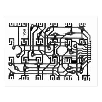 Cartão Postal circuito impresso