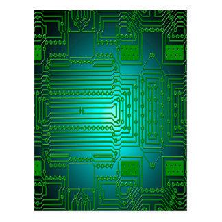 Cartão Postal circuitos dos condutores do conselho