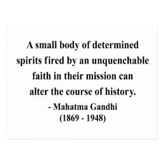 Cartão Postal Citações 6a de Gandhi