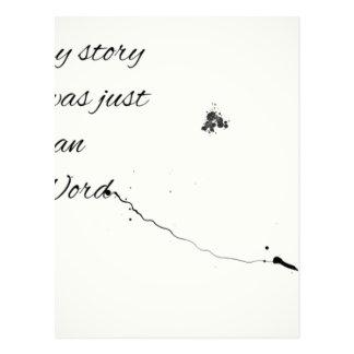 Cartão Postal Citações da palavra