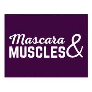 Cartão Postal Citações do Gym do rímel & dos músculos