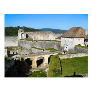 Cartão Postal Citadela de Besançon